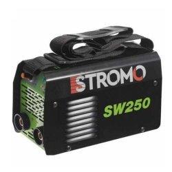 Aparat de sudura invertor STROMO SW250, 250Ah, accesorii incluse, electrod 1.6-4mm