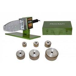 Aparat lipit tevi PPR, PPC Procraft PL1600, 1600 W, 300 grade C, trusa cu 6 bac-uri