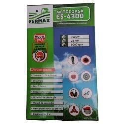 Motocositoare pe benzina Fermax ES-4300, cu pornire ELECTRICA si manuala, 4.7 CP, 9000 rpm, 8 accesorii incluse