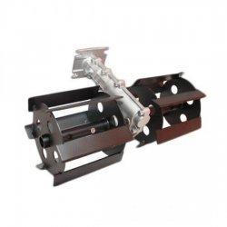 Pachet Motocositoare pe benzina MOGILEV M5500, 7CP, 9000 rpm + Prasitoare, Accesoriu pentru Motocoasa, 28 mm * 9 T