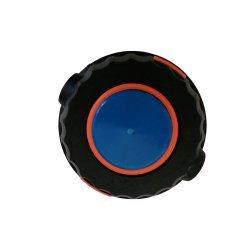 Tambur cu fir pentru motocoasa negru cu buton albastru
