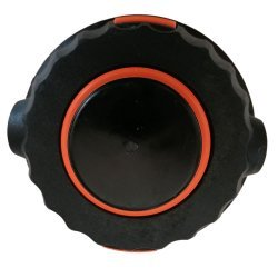 Tambur cu fir pentru motocoasa negru cu buton negru
