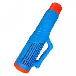 Pompa electrica de stropit, Herly, 12 L, 5 bar, albastra + Atomizor electric portabil Kraissmann 30 W