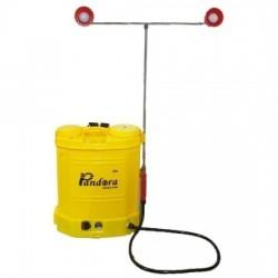 Pompa electrica pentru stropit Pandora, 20 litri, 7.5 bar, pompa dubla + Atomizor electric portabil Kraissmann 30 W
