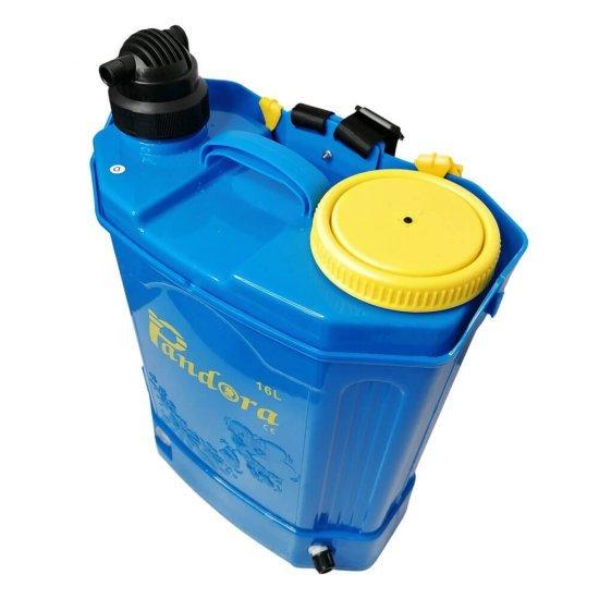 Pompa de stropit 2 in 1 (baterie + manuala) ,16L, Pandora + Atomizor electric portabil Kraissmann