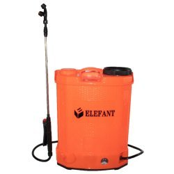 Pompa stropit gradina electrica Elefant, 12 litri, acumulator, 5.5 bar, regulator, lance 85 cm, 3 duze