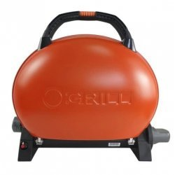 Gratar portabil pe gaz, O-Grill 500, Orange