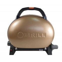 Gratar portabil pe gaz, O-Grill 500, Gold