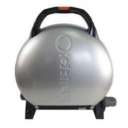 Gratar portabil pe gaz, O-Grill 600, Argintiu