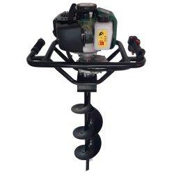 Pachet Motor Motoburghiu Foreza Fermax , 4 CP, 200 rpm + Burghiu 200 x 800 mm