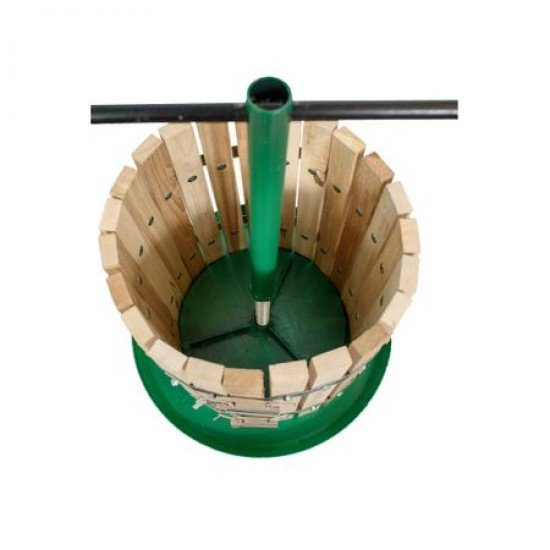 Teasc manual pentru struguri cu sistem de prindere cu balamale 30L,Teascuri si prese - www.agrotech.ro