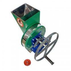 Tocator-Razatoare manuala cu fulie - cuva inox pentru tocat radacinoase, legume si fructe