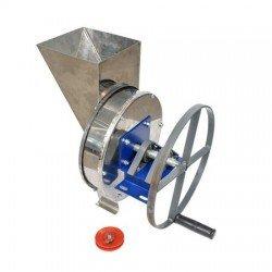 Tocator-Razatoare manuala cu fulie - integral din inox pentru tocat radacinoase, legume si fructe