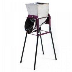 Tocator Razatoare manuala din inox  pentru radacinoase, fructe si legume cu fulie pentru motorizare