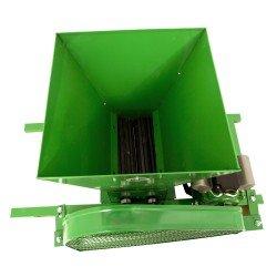 Zdrobitor de struguri electric, 240 - 500 Kg/Ora, Cuva 20 Litri Detasabila, Alpin Profi, Model 2019