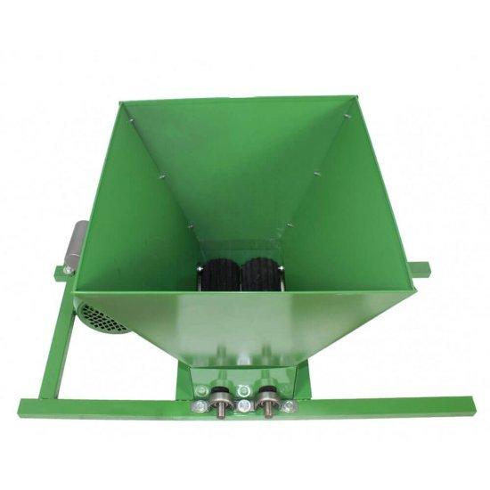Zdrobitor electric de struguri, 240 - 500 Kg/Ora, Cuva 35 Litri Detasabila, Fermer, Model 2020