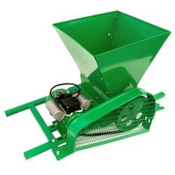 RESIGILAT Zdrobitor / tocator electric de fructe si legume, 300 - 500 Kg/Ora, Cuva 35 Litri Detasabila, Fermax, Model 2021
