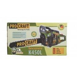 Drujba benzina PROCRAFT K450L 3.9CP, Lama 45 cm
