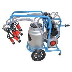 Mașină de muls cu 2 posturi | 1 rezervor | Vacuum Tank
