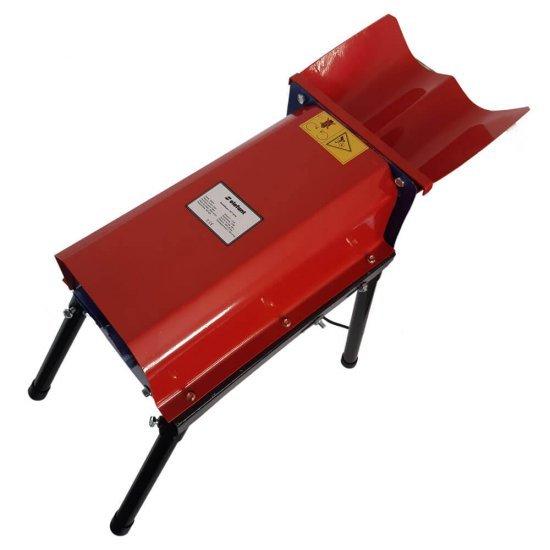 Batoza electrica de curatat porumb, Elefant 5STY-50-90, 1.8kW, 300kg/h, cuva dubla, Desfacatori porumb