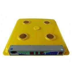 Incubator (clocitoare) pentru 63 oua gaina, 252 prepelita, model MS-63/252